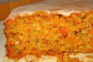 Receta de bizcocho de zanahoria en microondas