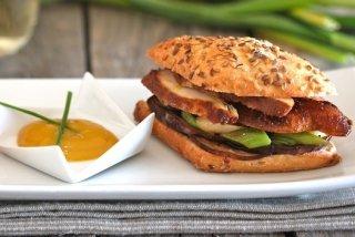 Receta de bocadillo de pollo tandoori masala