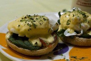 Receta de bocaditos de huevo y espinacas