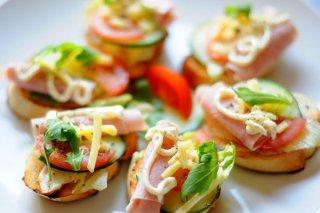 Receta de bocaditos vegetales