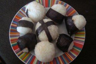 Receta de bolas de arroz rellenas de atún