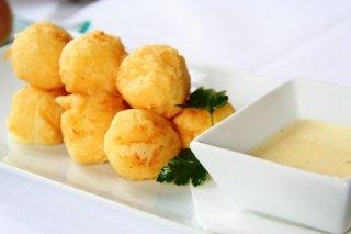 Receta de bolitas de puré de patata