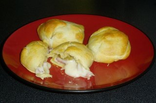Receta de bollitos de jamón y queso