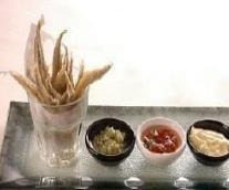 Receta de boquerones fritos con 3 salsas