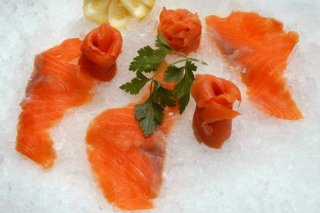 Receta de botanas de salmón ahumado