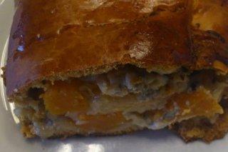 Receta de brazo dulce de calabaza y queso