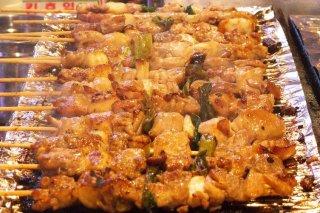 Receta de brochetas de pollo tailandesas