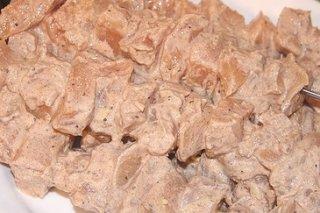 Receta de brochetas de pollo tandoori
