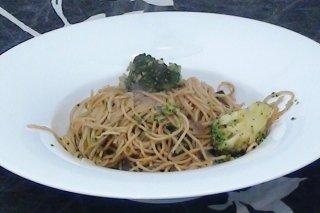Receta de brócoli con fideos chinos