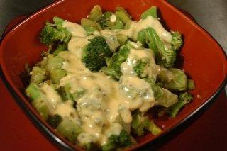 Receta de brócoli con gambas gratinados