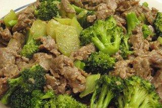 Receta de brócoli con ternera