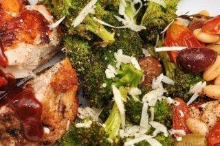 Receta de brócoli con ajo y queso