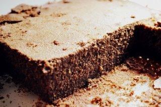 Receta de brownie al microondas