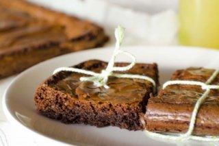 Receta de brownie de chocolate y canela