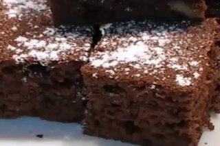 Receta de brownies de chocolate y nueces