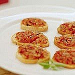 Receta de bruschetta de tomate light