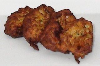 Receta de buñuelos de calabacín y queso feta