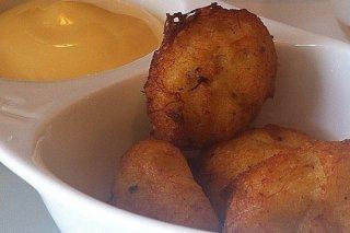 Receta de buñuelos de patata y bacalao