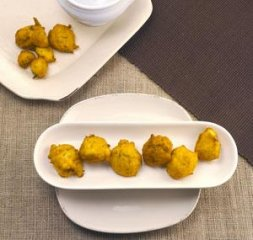Receta de buñuelos de zanahoria y coco