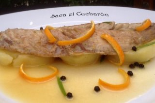 Receta de caballa marinada a la naranja y el romero