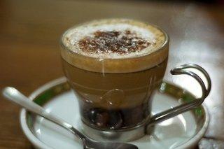 Receta de café de almendras