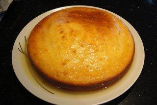 Receta de cake de limón