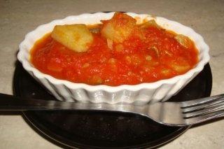 Receta de calabacín, patata y tomate casero