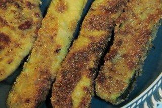 Receta de calabacines fritos rebozados