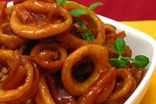 Receta de calamares al estilo de filipinas