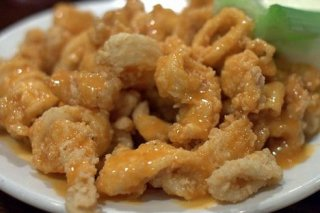 Receta de calamares fritos con salsa