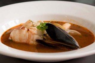 Receta de caldo de marisco asturiano