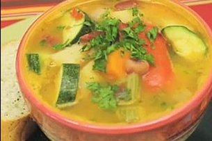 Receta de caldo de verduras