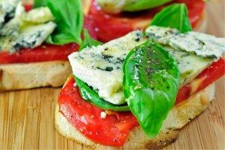 Receta de canapés de salmón y queso