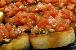 Receta de canapés de tomate