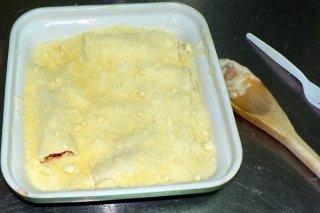 Receta de canelones de pollo y soja