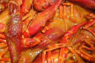 Receta de cangrejos en sartén