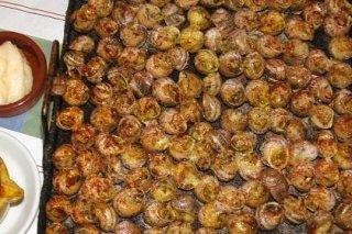 Receta de caracoles a la llauna