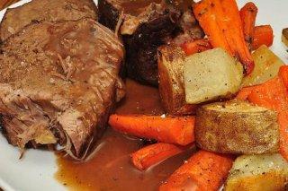 Receta de carne asada al horno