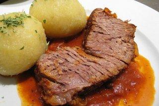 Receta de carne asada con tomate