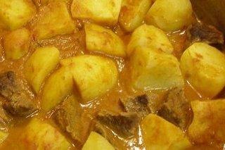 Receta de carne con patatas