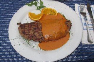 Receta de carne de ternera rellena