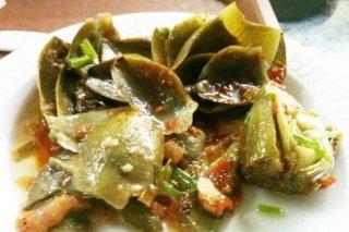 Receta de carne guisada con alcachofas