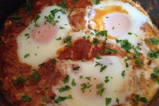 Receta de carne picada con huevos