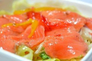 Receta de carpaccio de salmón con pimienta