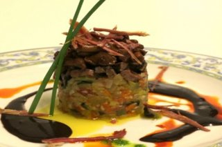 Receta de carrillada de ternera con rebozuelos
