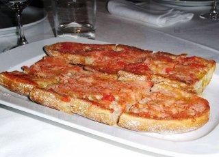 Receta de pan a la catalana