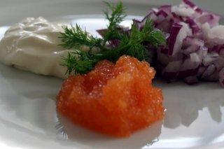 Receta de caviar noruego ahumado