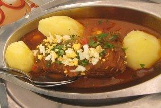 Receta de cazuela de pescado con patatas