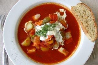 Receta de cazuela de pescado con verduras