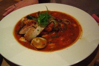 Receta de cazuela de pescado y camarones